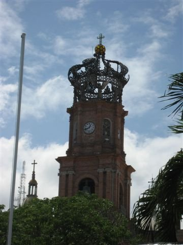 cathedral in downtown puerto vallarta