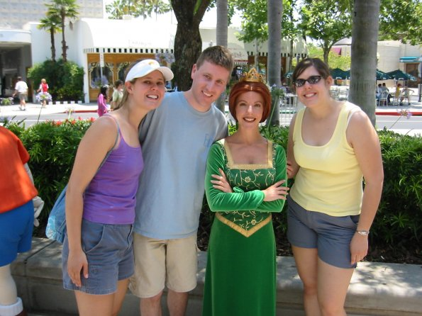 Jess, Scott, Princess Fiona and Jo