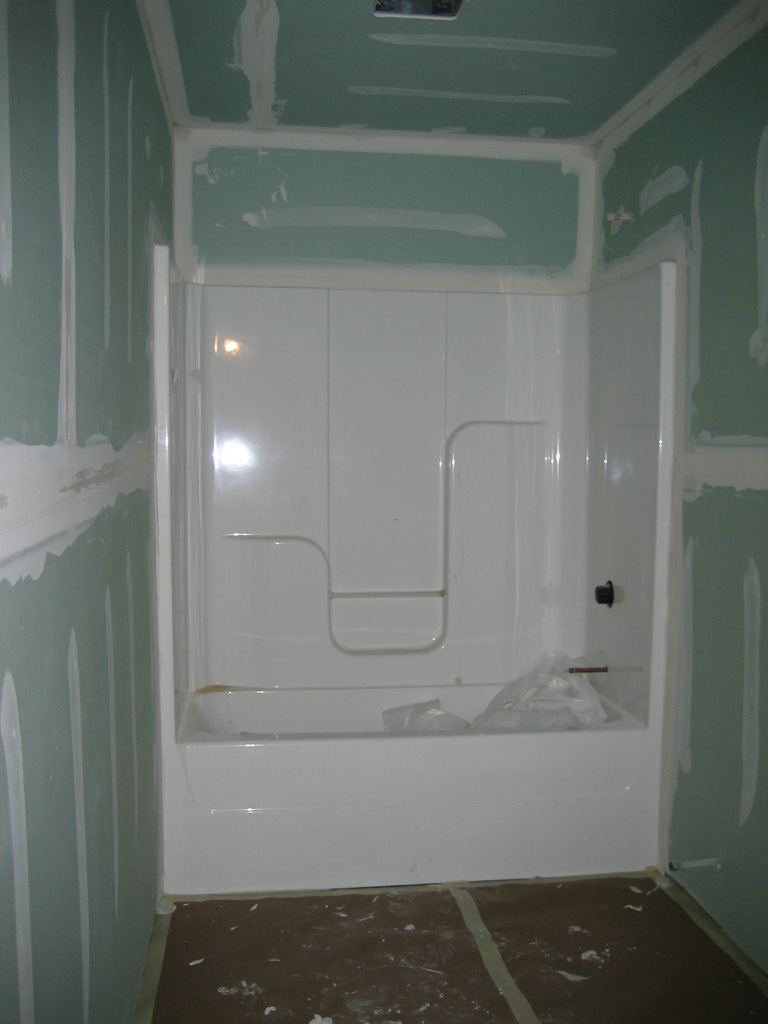 Drywall bathroom 28 images what type of drywall for for Drywall or cement board for shower